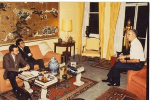Chez Christopher Lee 1986