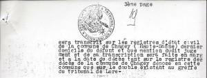 Décès Fleury André Mort pour la France page3