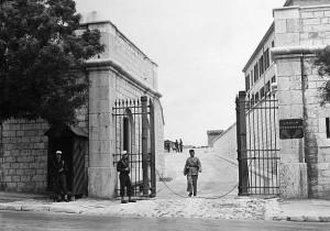 entrée du fort st nicolas à Marseille