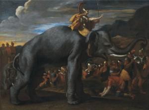hannibal-traversant-les-alpes-a-dos-elephant-nicolas-poussin